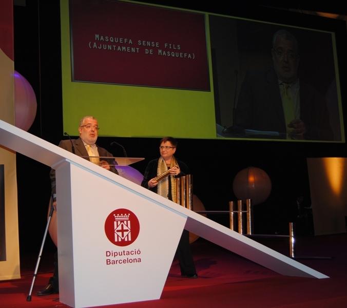 Masquefa Sense Fils guanya el Premi Innova de la Diputació
