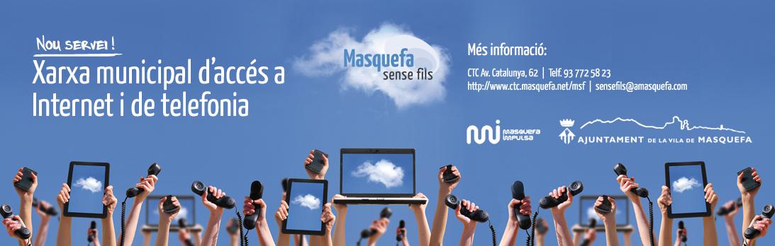 L'Ajuntament impulsa Masquefa Sense Fils per donar suport en la transformació digital de les persones i empreses